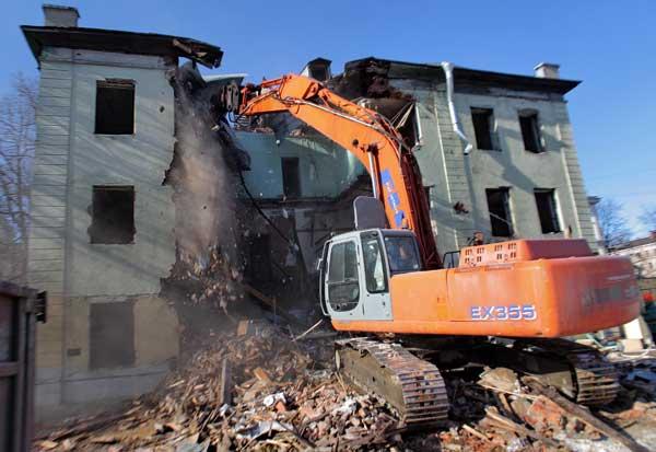 демонтаж зданий компания Размах
