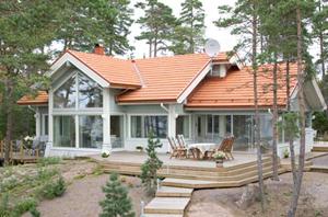 Из чего делают дома в финляндии