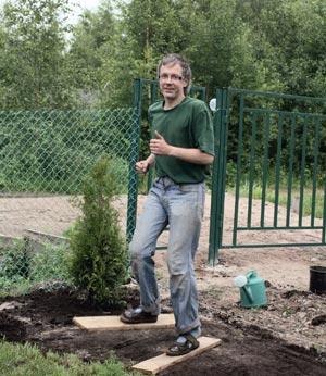 Как сделать газон на заросшем участке — Ленивый газон на даче