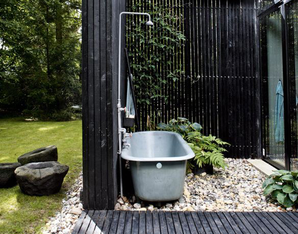 ванна на свежем воздухе