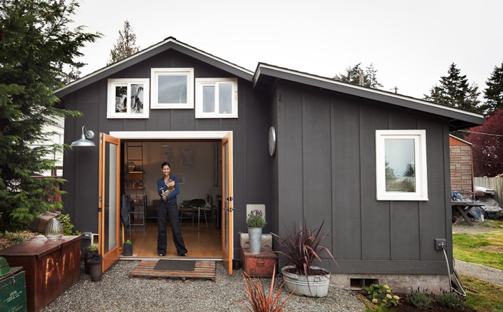 Мини-дом в гараже